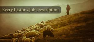 Pastors Job Description