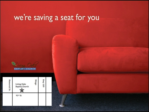 Saving a seat for you
